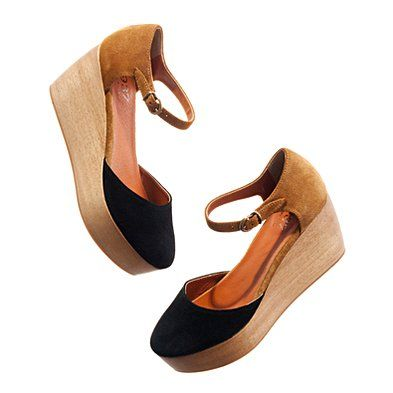 Two-toed flatstock $178 at madewell  #shoes #flatforms #platforms