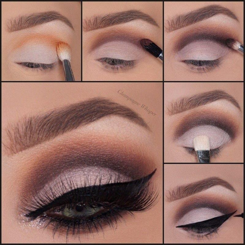 Glamorous Cut Crease · How To Create A Cut Crease Eye ...