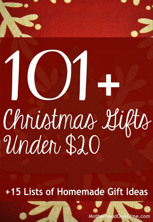 101+ Christmas Gifts Under Twenty Dollars + 15 Lists of Homemade ...