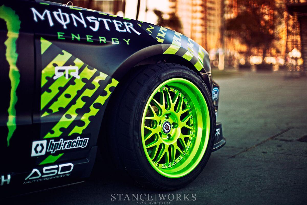 Nitto Tire Monster Energy Ford Mustang Rtr Vaughn Gittin Jr