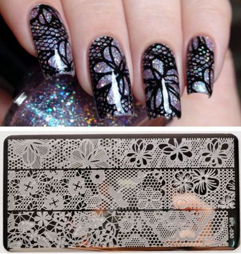 Cheap plate holder Buy Quality plate lifter directly from China plate scanner Suppliers Full Lace Plate Nail Art St& Template Image Rctangular St&ing ... & BORN-PRETTY-Nail-Art-Stamping-Plate-Hollow-Lace-Image-Stamp-Template ...
