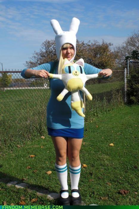 fanart-cosplay-halloween-inspiration-fionna-and-cake.jpg (467×700)