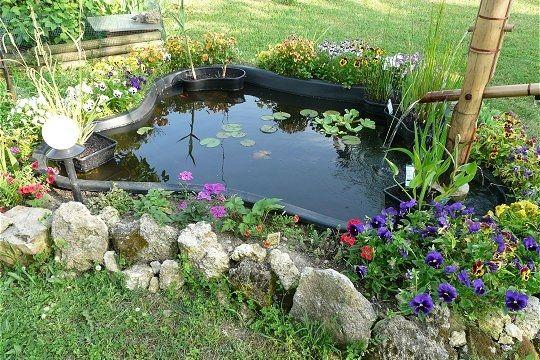 plantes pour bassins ext rieurs jardin d co jardin les plus beaux bassins bassin de. Black Bedroom Furniture Sets. Home Design Ideas