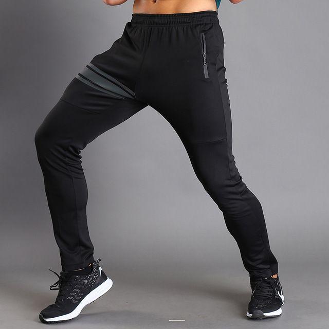 Homme Homme Survêtement Slim Fit Survêtement Jogging Bottoms Long Entraînement