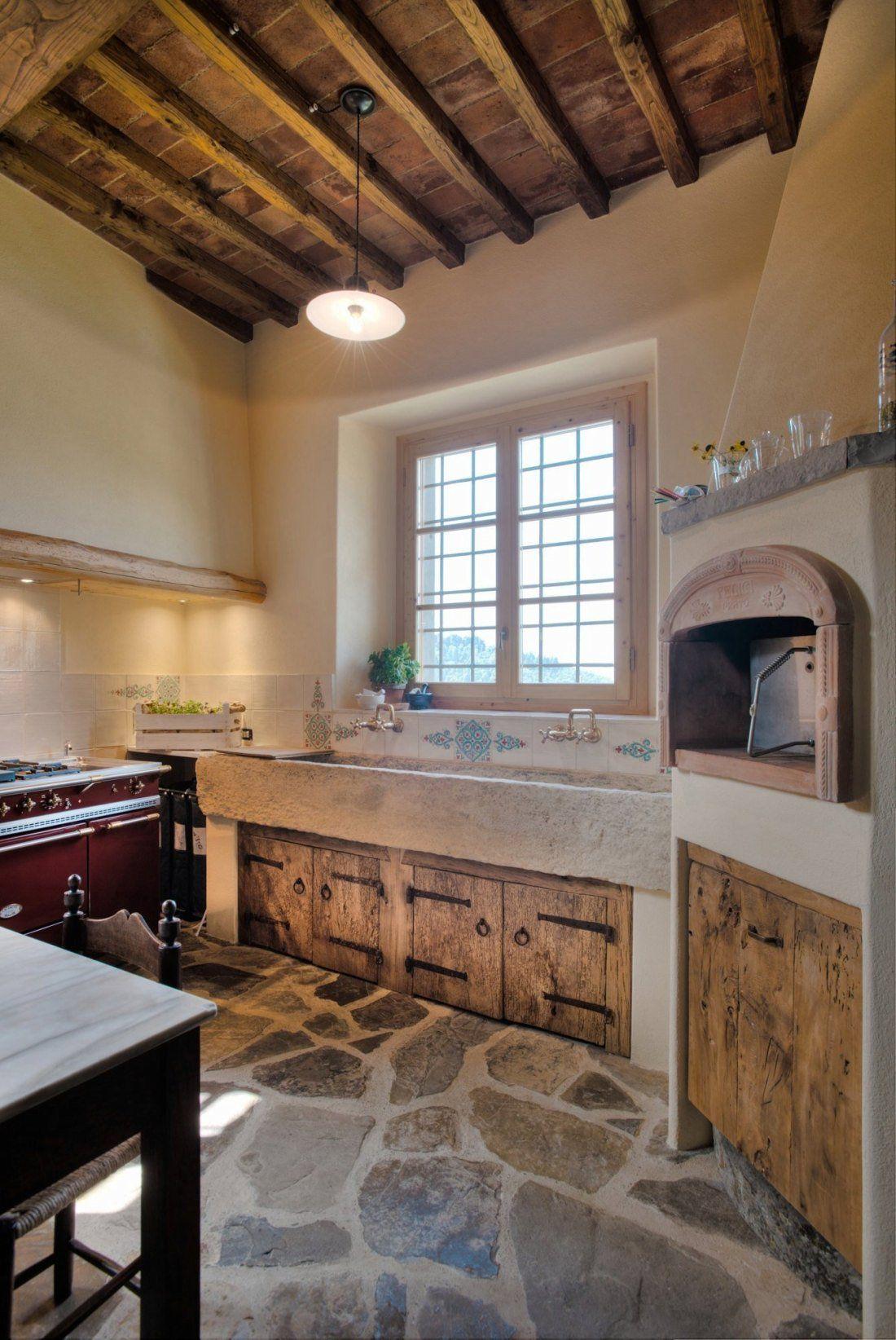 oltre 25 fantastiche idee su case rustiche su pinterest | case ... - Cucine Legno E Ferro