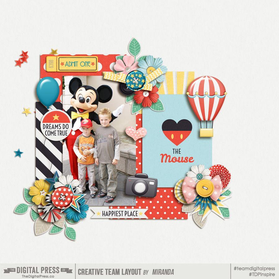 Kit: Happiest Place by Meagan's Creations  http://shop.thedigitalpress.co/Happiest-Place-Elements.html http://shop.thedigitalpress.co/Happiest-Place-Patterned-Papers.html http://shop.thedigitalpress.co/Happiest-Place-Solid-Dots-Papers.html http://shop.thedigitalpress.co/Happiest-Place-Journal-Cards.html