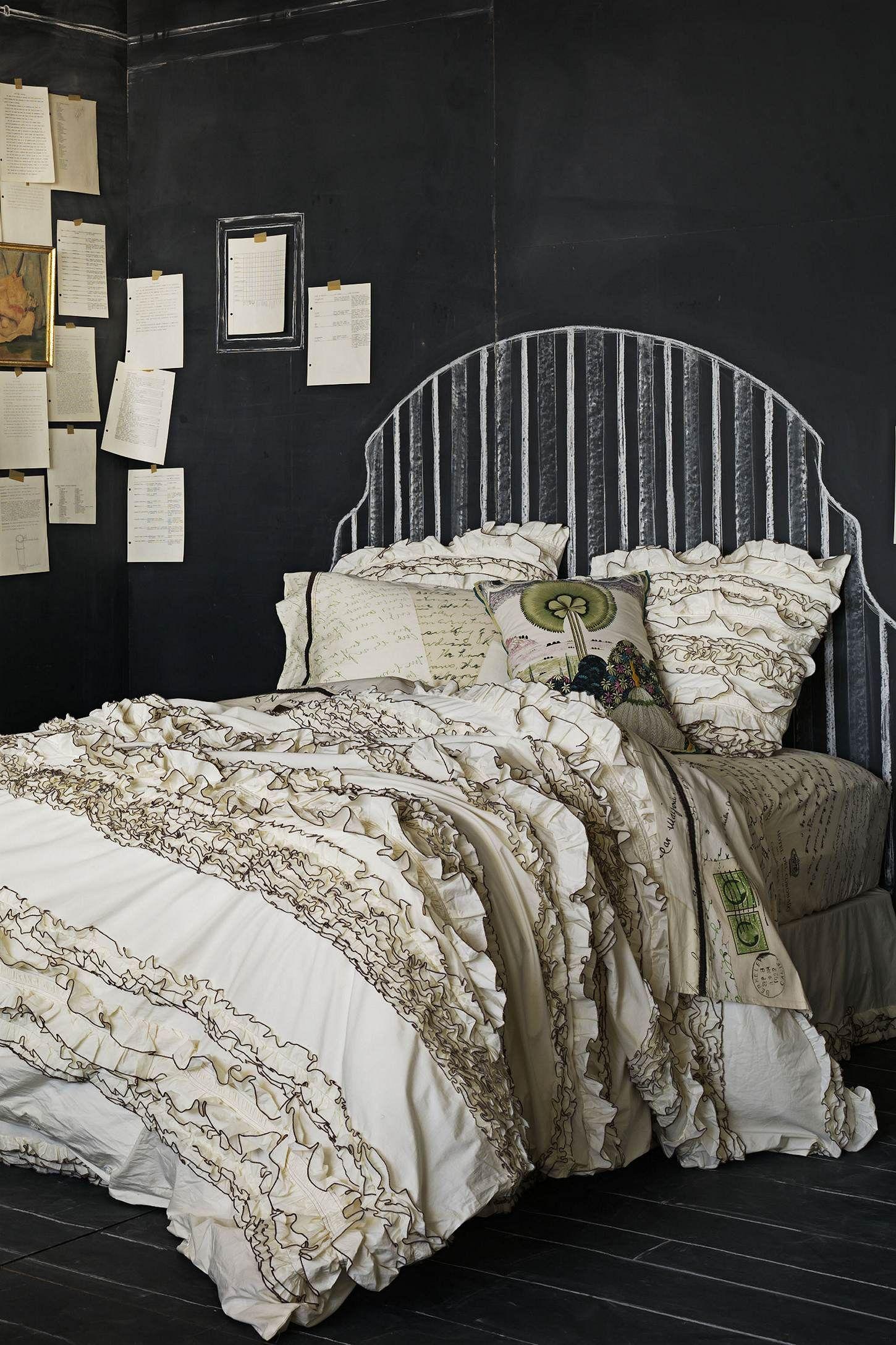 Anthropologie bedding - Love Letter Sheet Set Comforter From Anthropologie