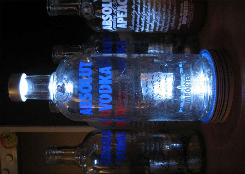 How to Make a Vodka Lamp (or Any Other Booze Bottle Light ...