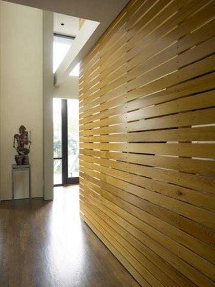 Goldstone Residence Wooden Room Divider Wooden Room Dividers