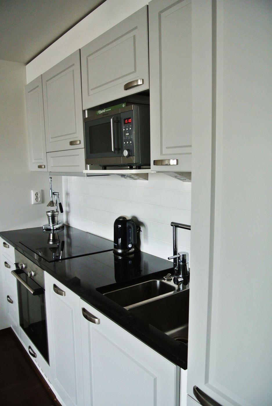 Musta kivitaso Kitchen Pinterest Kitchens