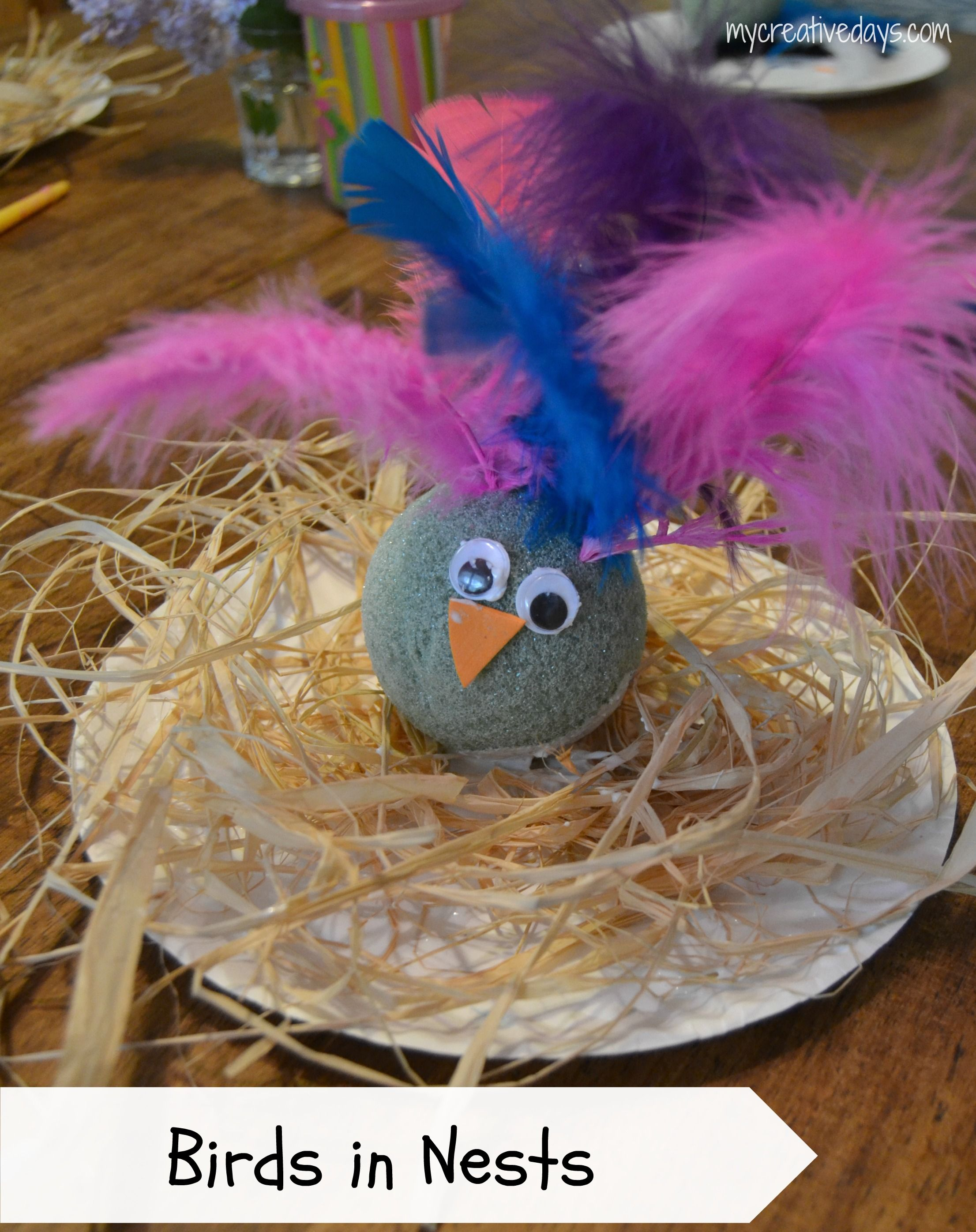 Birds in Nests Craft from Crafts