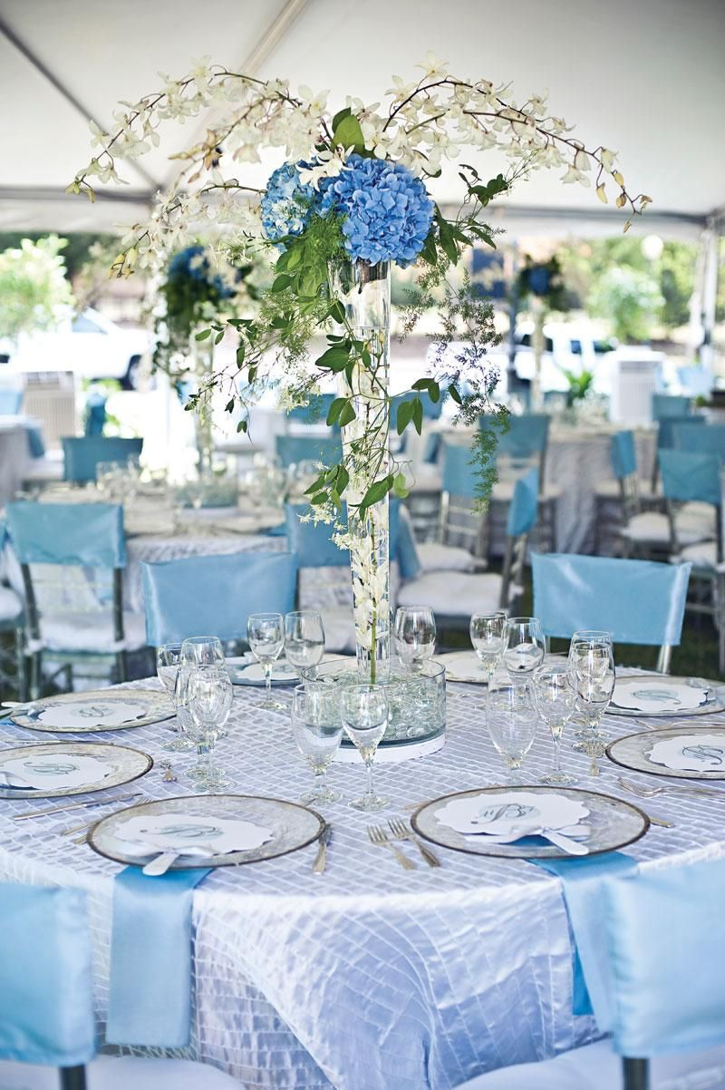 Get Creative With These 37 Wedding Reception Ideas Blue Wedding