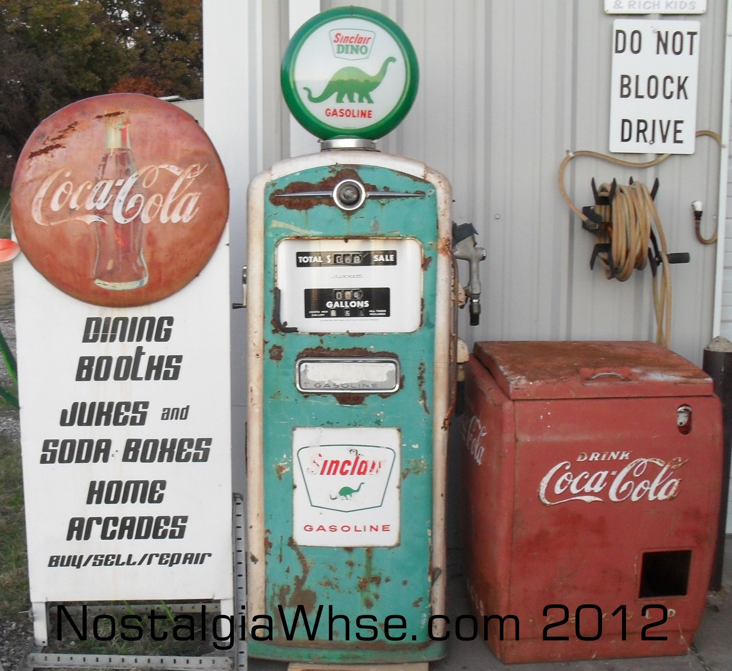 vintage gas pumps | Gas Pumps | Nostalgia Warehouse,LLC | Vintage