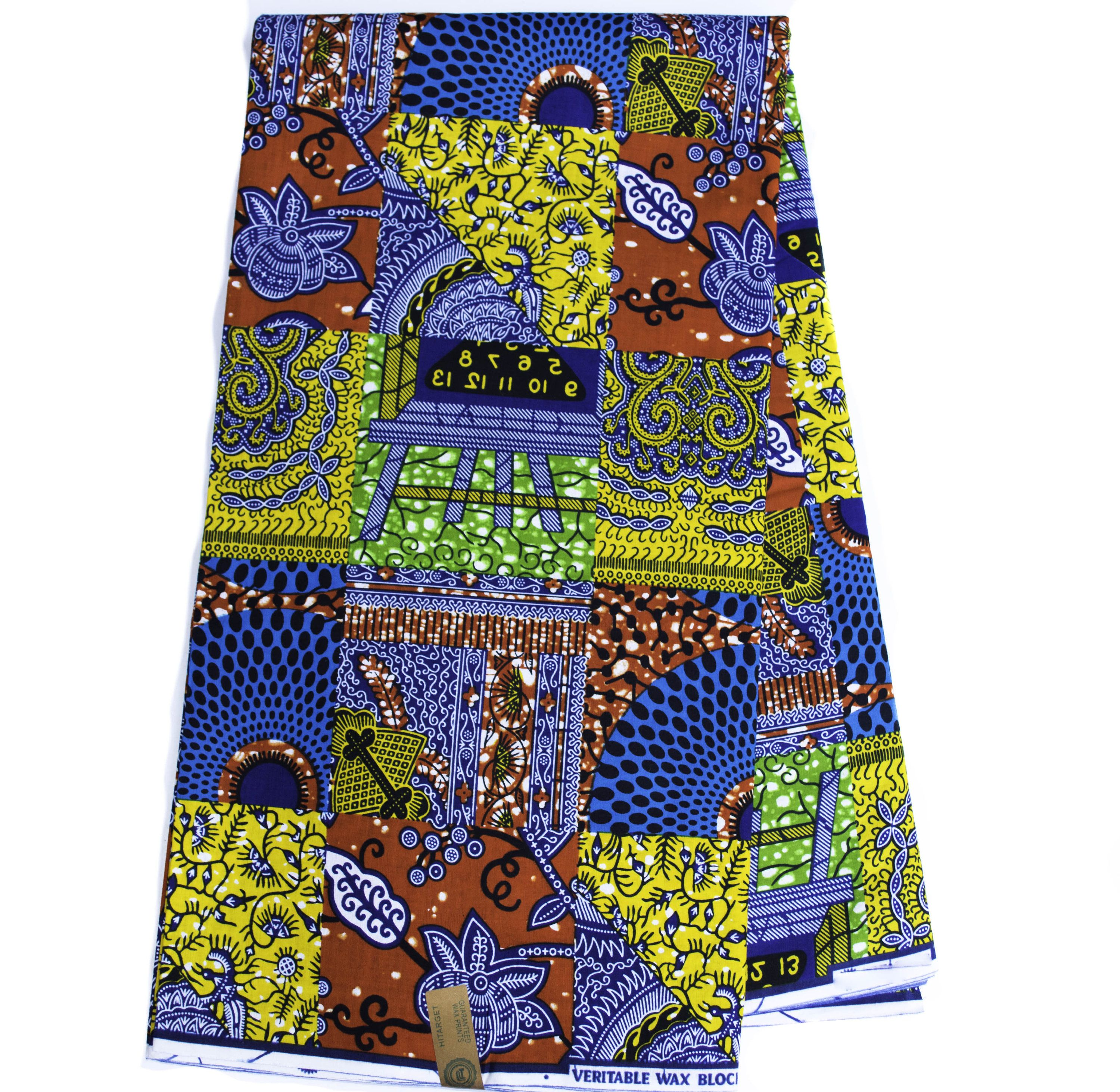 African Fabric By The Yard Hitarget Ankara Fabric Faux