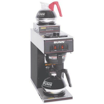 Bunn Vp17 2 12 Cup Pourover Commercial Coffee Brewer With 2 Warmers Coffee Brewer Best Coffee Maker Pour Over Coffee
