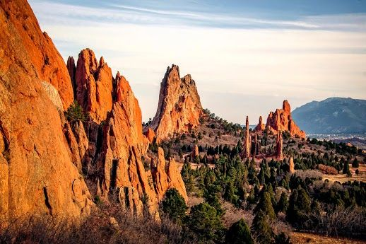 Garden Of The Gods Colrado Springs Colorado Colorado Vacation