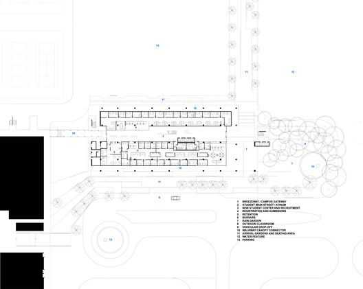 Gallery Of Miami Dade College Academic Support Center Perkins Will 38 Miami Dade College Miami Dade Miami Architecture