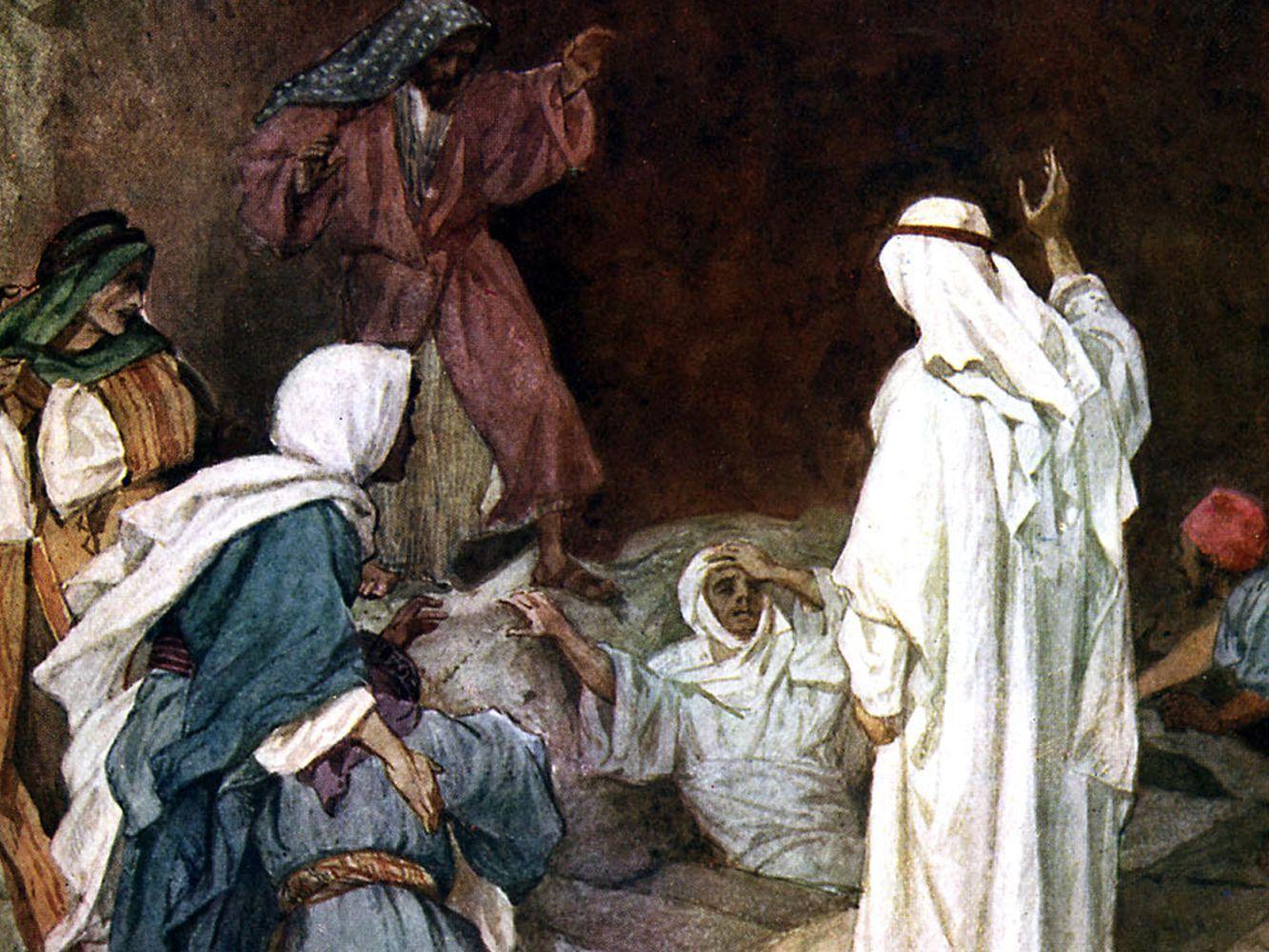Lazarus, Also in 2020 Jesus stories, Bible stories