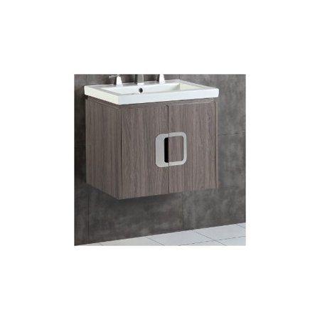 Bellaterra Home 24 Single Bathroom Vanity Set Walmart Com