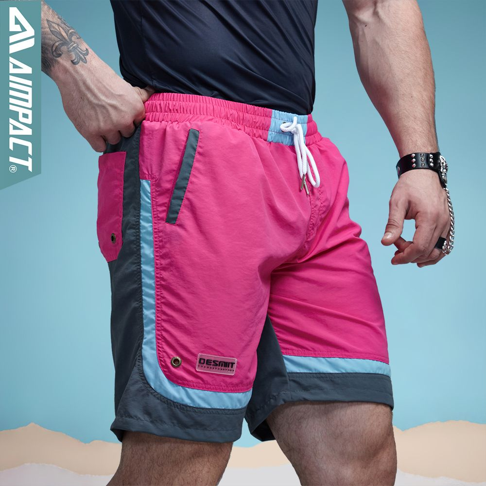 0d41a03b56 Sexy Beach Men's Shorts Leisure Sea Men Board Shorts Patchwork Fast Dry  Elastic Waist Shorts Activewear Lining Liner Shorts