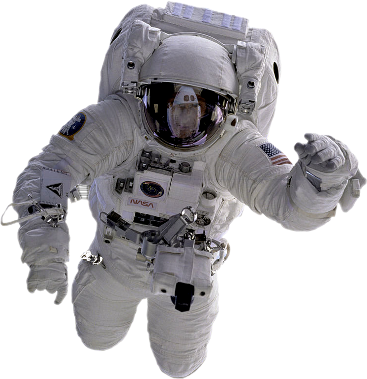 Astronaut PNG Image | Kennedy space center, Astronaut ...