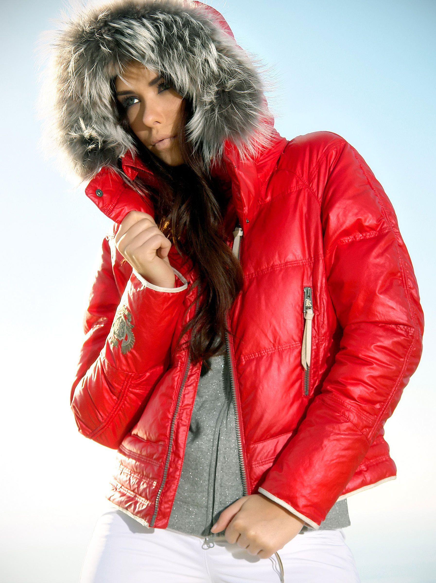 Women's ski Red Stunning Ski fashion Down Jacket Kelly Julia 5xPn0zqgR