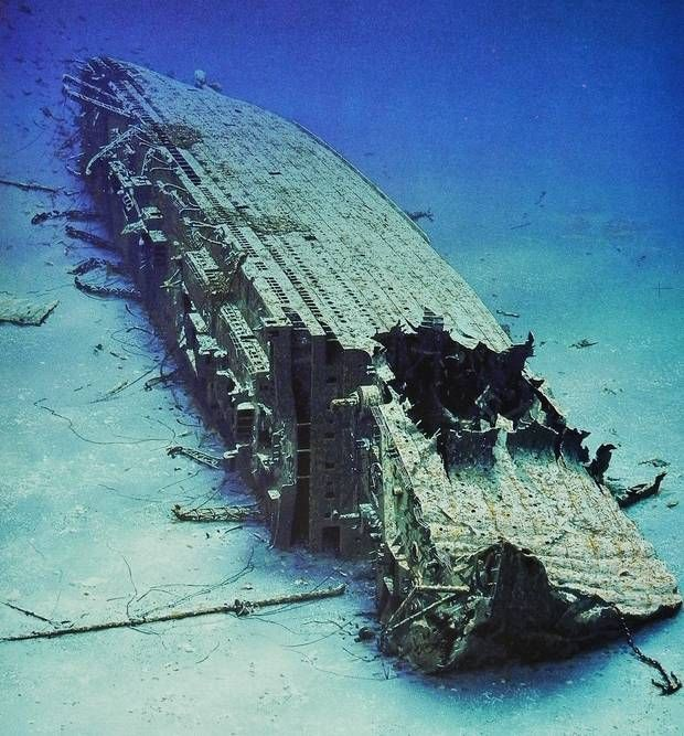 Britannic wreck - The Titanic's sister. | Abandoned ...