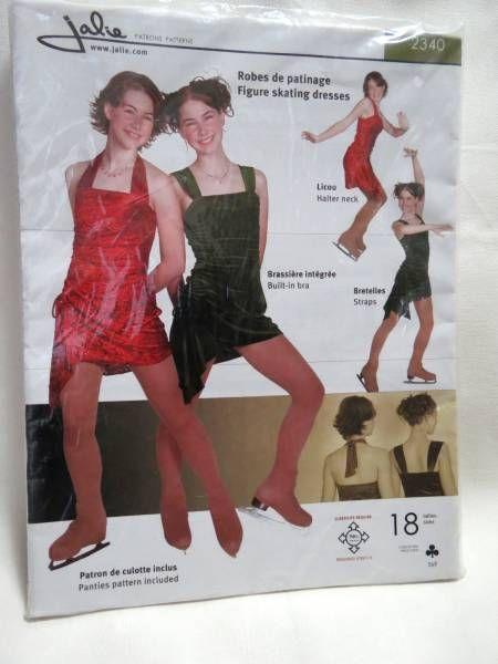 Figure Skating Dress Pattern Jalie Womens Sewing Patterns