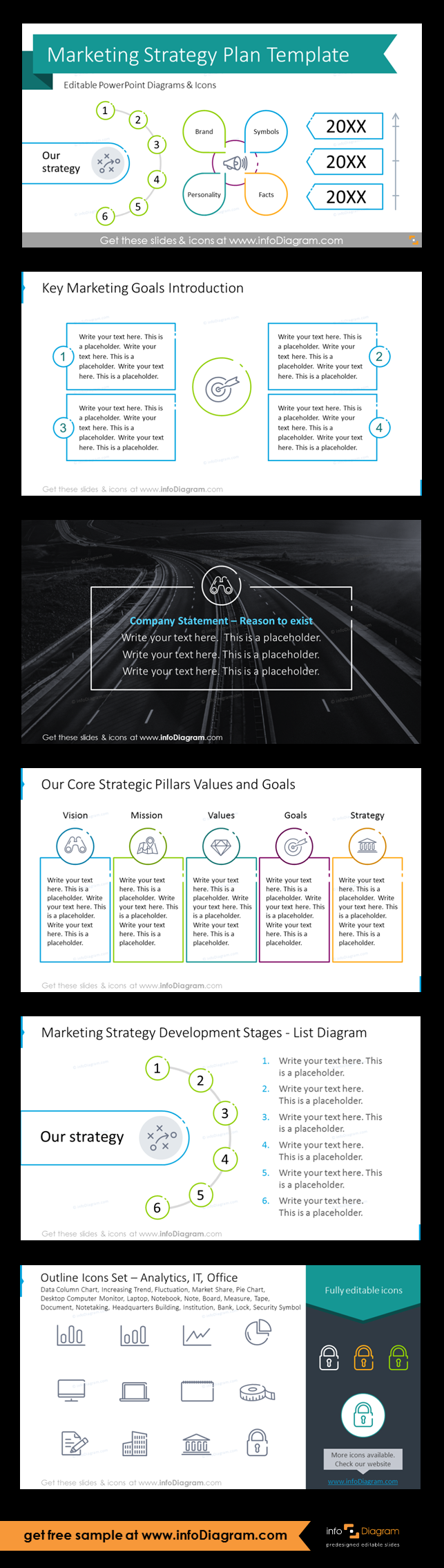 Elegant 56 Slide Marketing Strategy Presentation Deck For New Business Planning As Editable Powerpoint Template With Diagrams And Vector Icons Marketing Strategy Plan Marketing Strategy Marketing Analysis