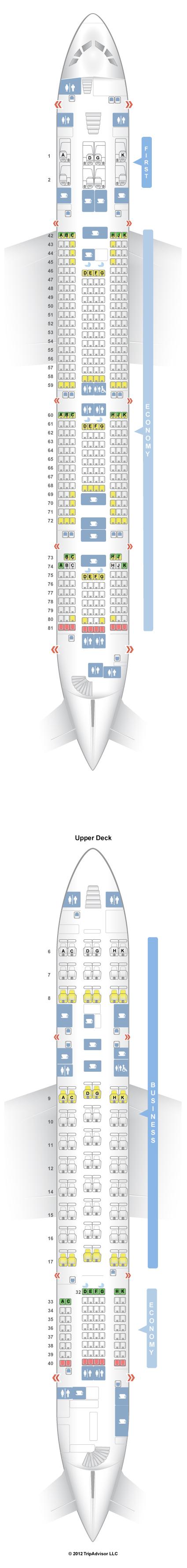 Seatguru Seat Map Malaysia Airlines Airbus A380 800