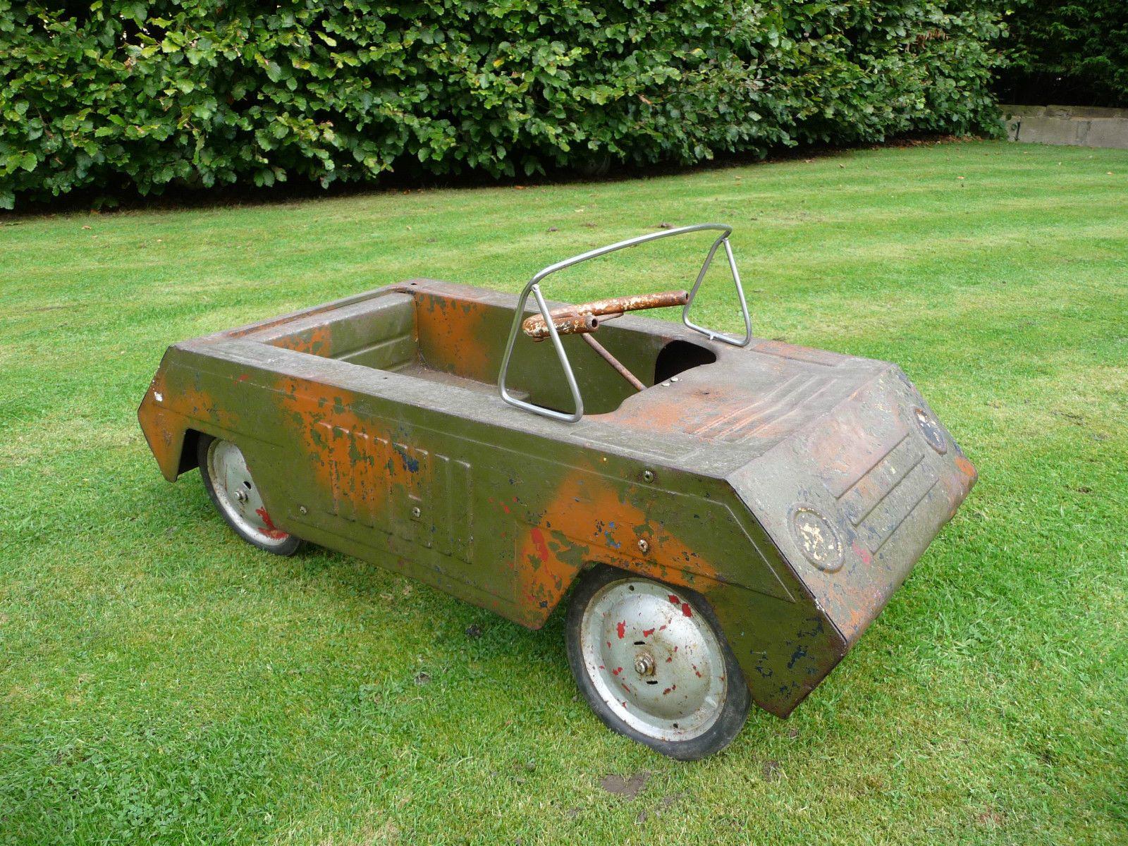 Triang Pedal Car Tank - http://www.ebay.co.uk/itm/371162634805 ...