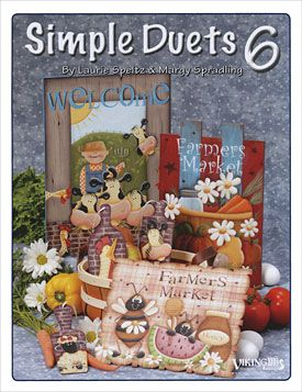 Simple Duets Laurie Speltz And Margy Spradling Painted Books Painting Tole