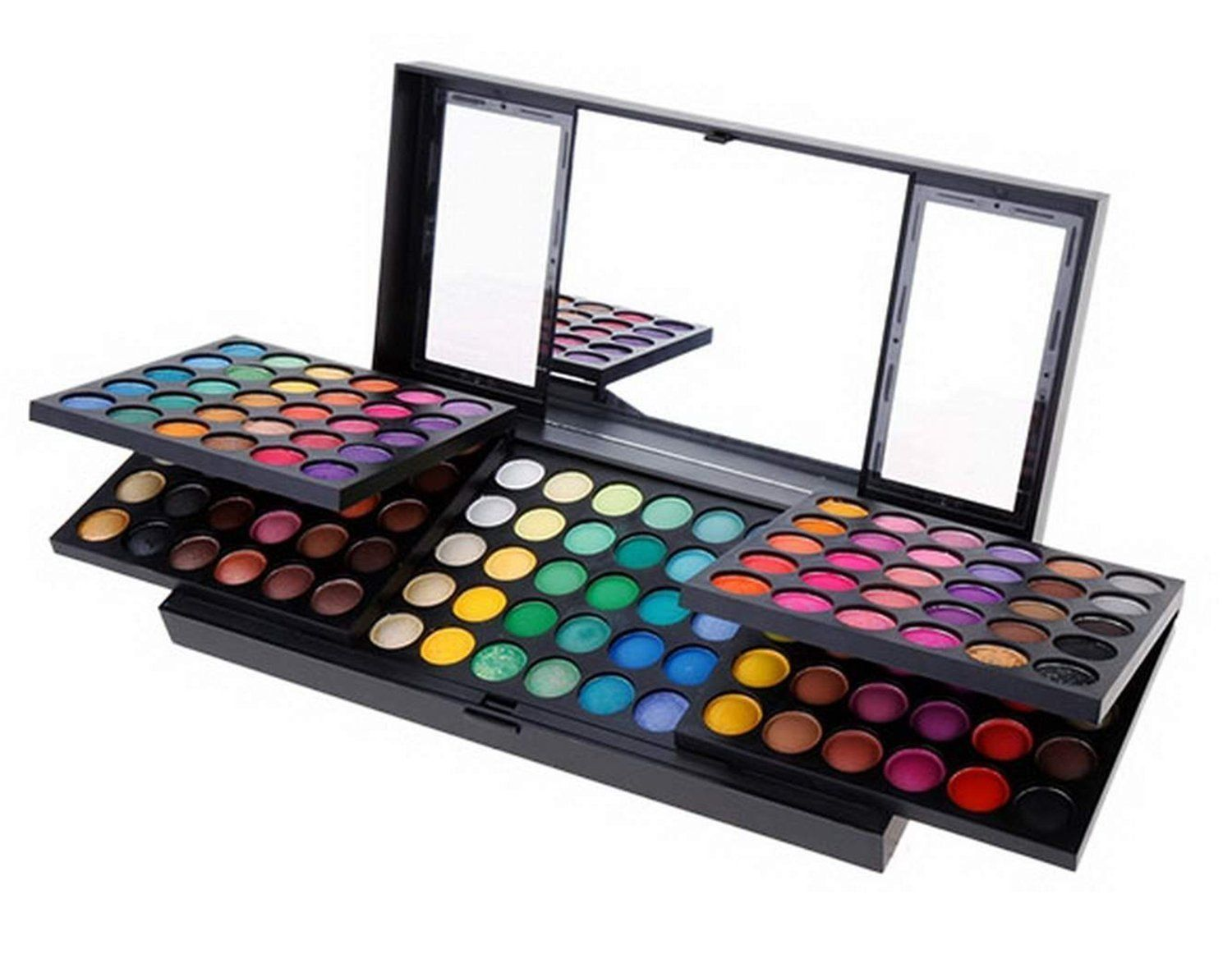 Pure Vie Professional 180 Colors EyeShadow Palette Makeup Contouring Kit - Ideal for Professional as well as Personal Use ** Check out the image by visiting the link.