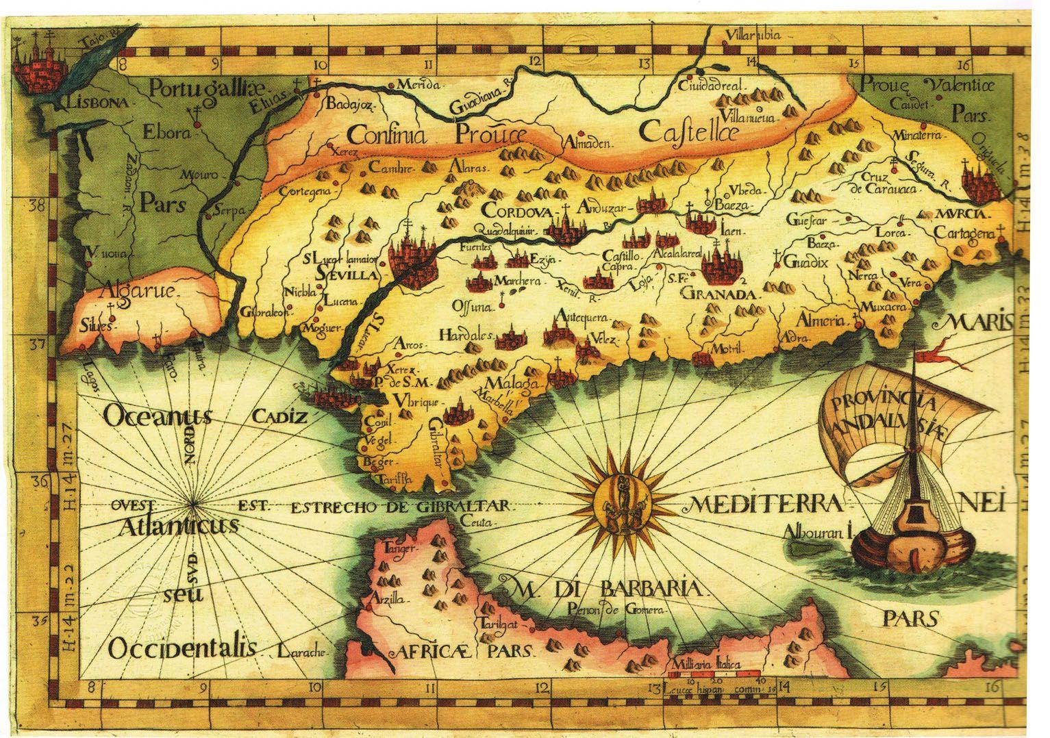Granada Authors Willem Barents Jodocus Hondius Place