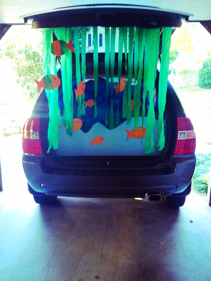Under The Sea Trunk Or Treat Idea Halloween Costumes Pinterest