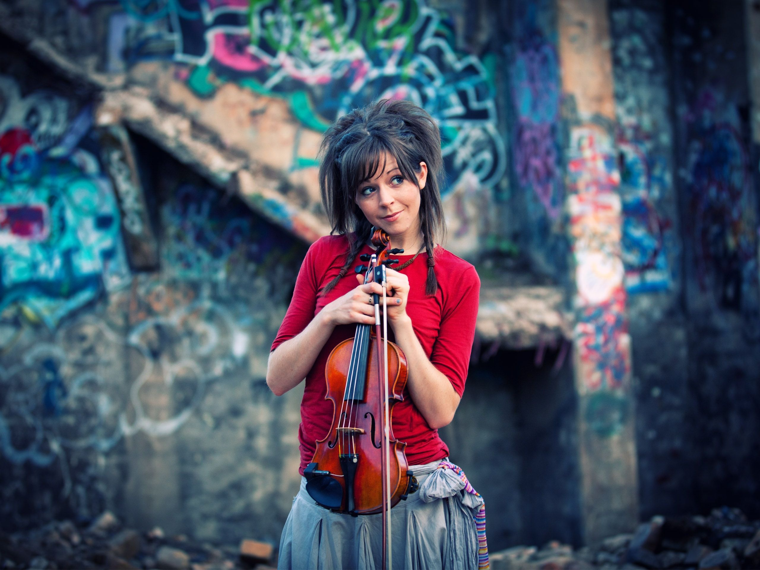 lindsey stirling crystallize скачать