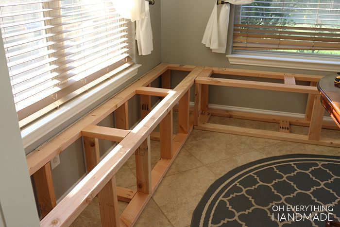 How To Build A Kitchen Nook Bench Full Step By Step Guide Building A Kitchen Booth Seating In Kitchen Kitchen Nook Bench