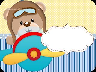 Passatempo Da Ana Kit Ursinho Aviador Kit Para Festa Infantil