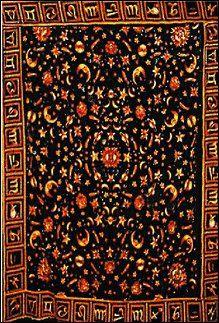 Galaxy With Zodiac Tapestry $21.95