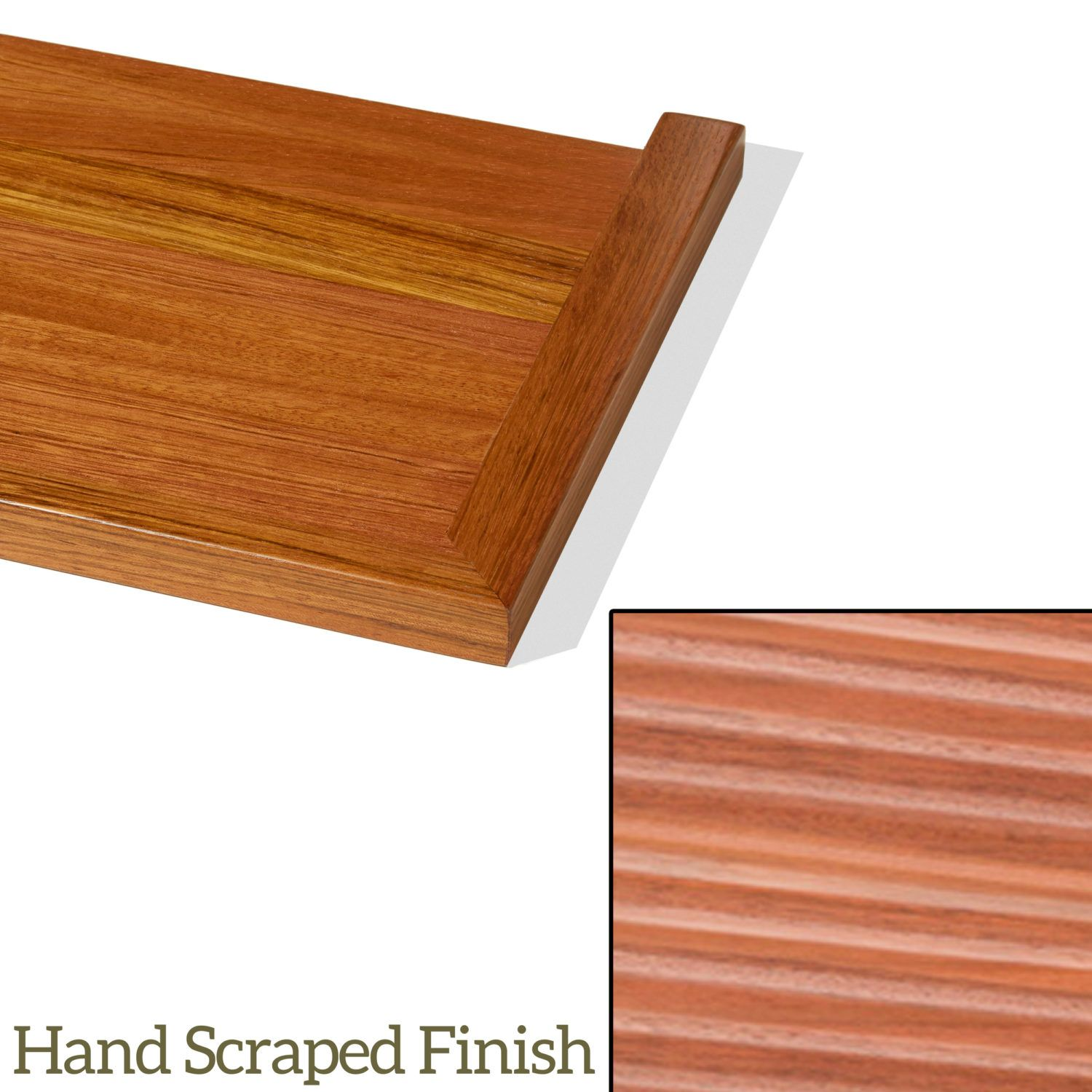 Best 8074 Craftsman Hand Scraped Replacement Stair Treads 400 x 300
