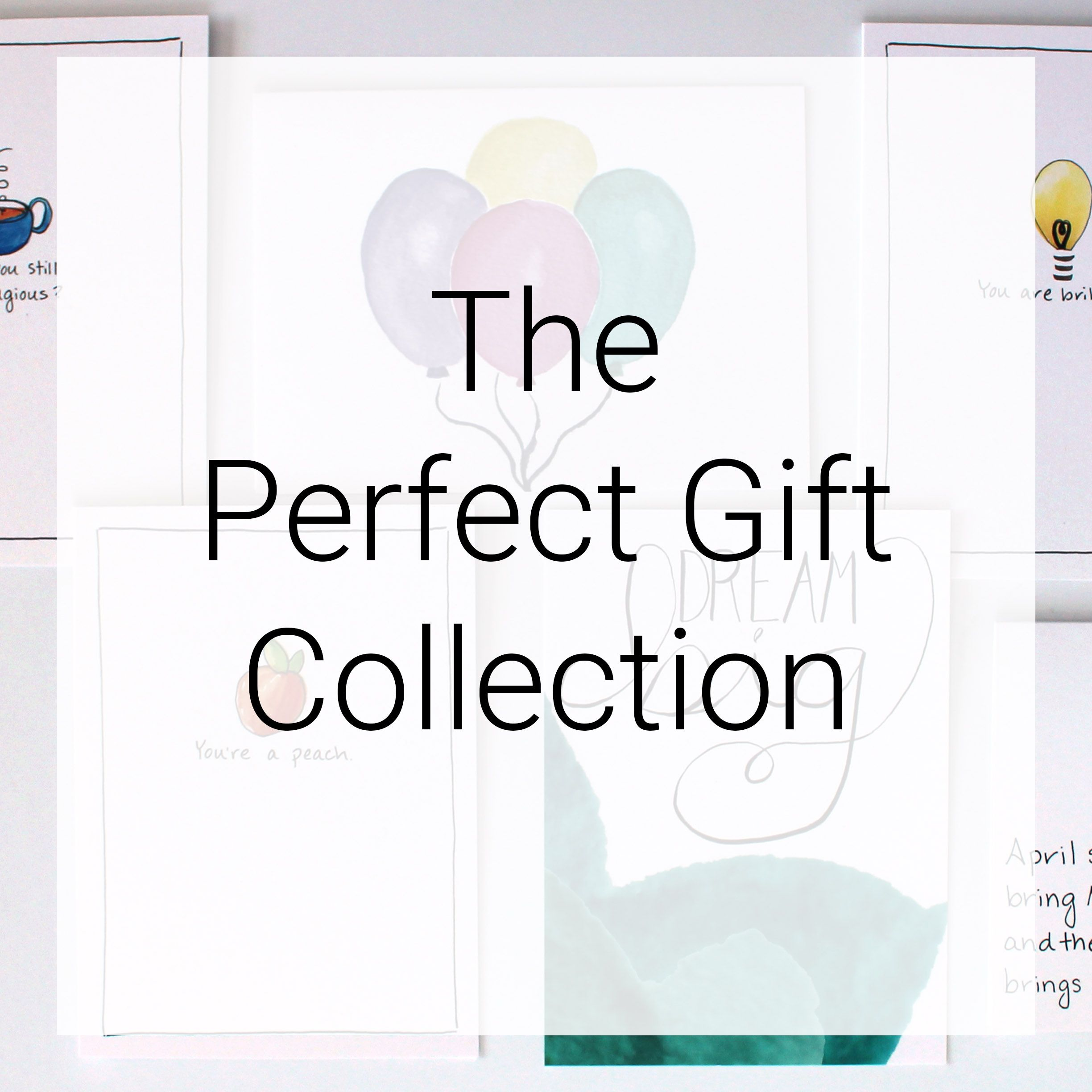 The perfect gift greeting card collection cafe notes company