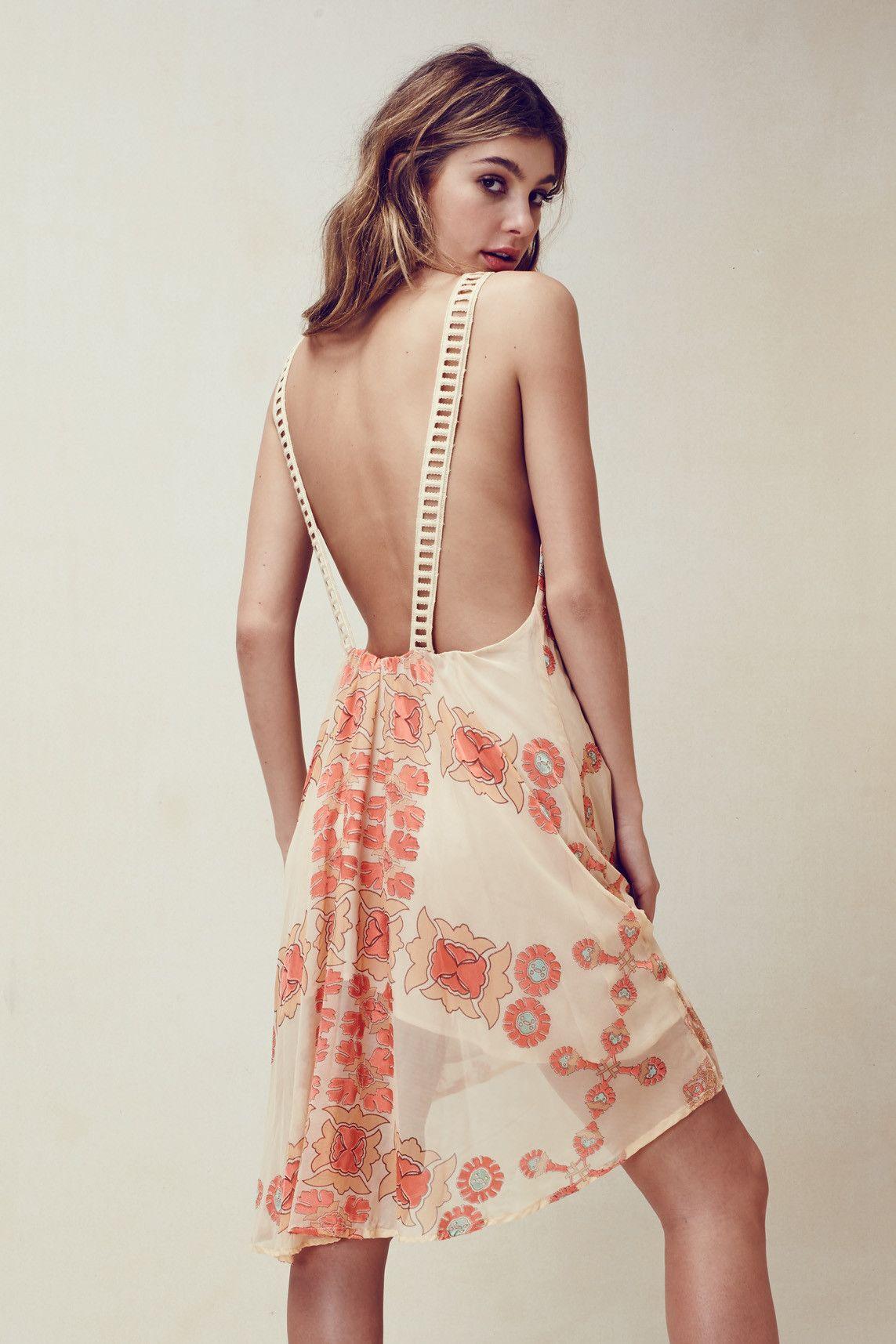 for love and lemons. barcelona halter dress. #fashion