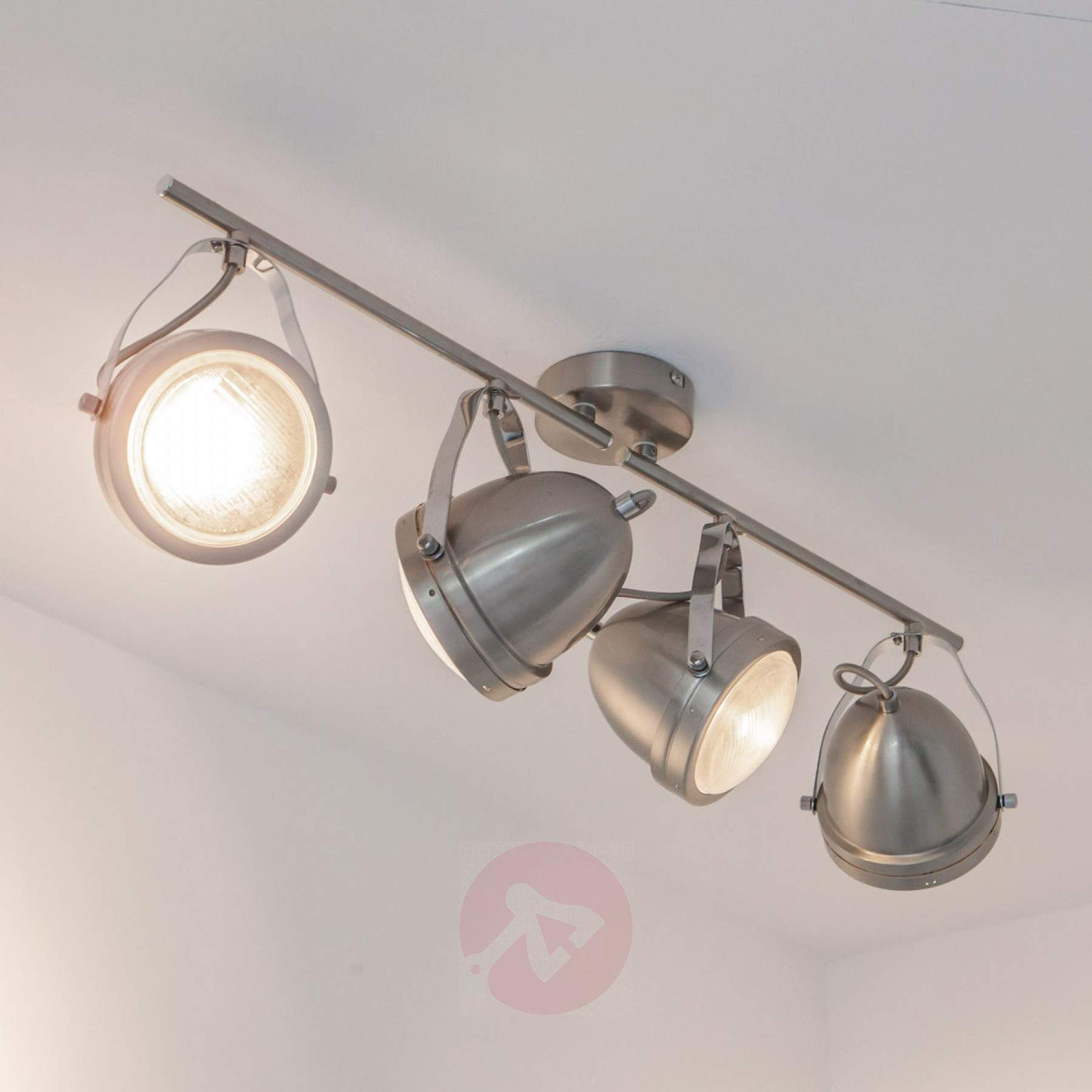 4 bulb LED ceiling spotlight Jella | Lights.co.uk | Metal