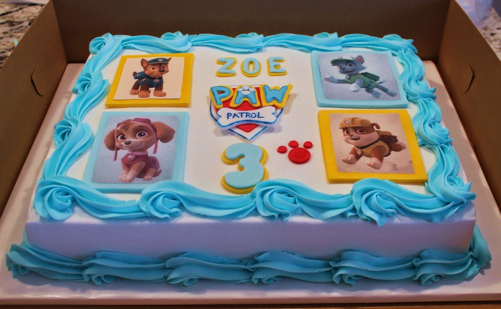 Creative Cakes By Lynn Paw Patrol Sheet Cake With Images Paw