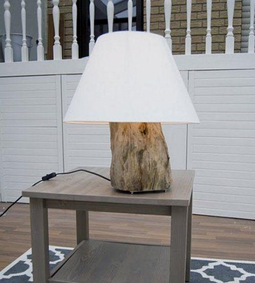 D coration en bois 32 id es de r utiliser un tronc d 39 arbre d coration - Arbre fruitier comme bois de chauffage ...