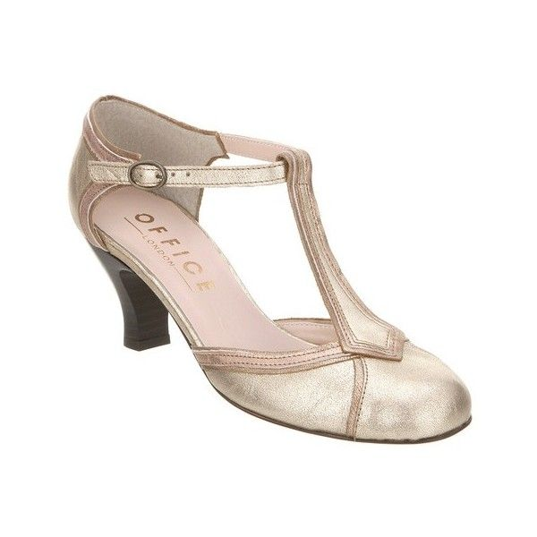 Office Vintage Art Deco Style Drama T Bar Maryjanes Fler Shoes 5 38