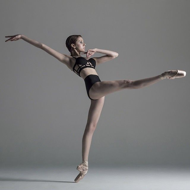 Ballerina Katie Boren wearing Capezio pointe shoes | http://www.instagram.com/katieboren1 | photo by Nisian Hughes