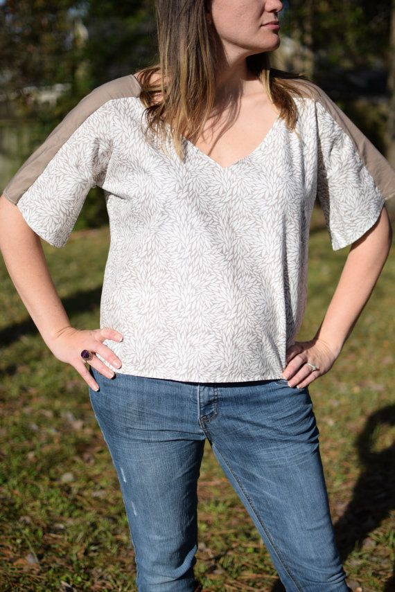 Hey, I found this really awesome Etsy listing at https://www.etsy.com/listing/265466058/alyssa-v-neck-top
