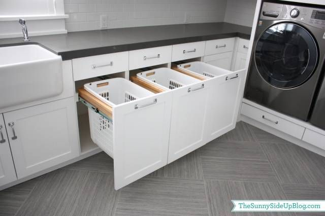 Photo of Downstairs Laundry Room – The Sunny Side Up Blog