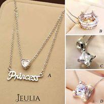 I love A. How about you? #jeulia #necklace #fashionjewelry